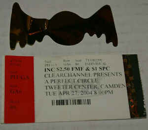 A Perfect Circle Tweeter Center Camden NJ Concert Ticket Stub April 27 2004 VG+