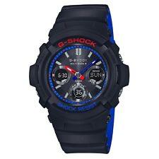 Casio G-shock AWG-M100SLT-1AJF en Capas Negro Y Tricolor Reloj para hombres AWG-M100SLT-1A