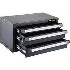 Vevor Drill Dispenser Three Drawer Drill Bit Dispenser Cabinet For 116 12