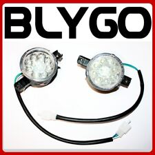 12V Pair LED Left Right Head Light Lamp 110cc 125cc Bull Farm Quad Dirt Bike ATV