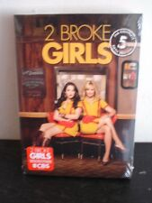 2 Broke Girls: The Complete 5 Fifth Season DVD. 2016, 3 Disc Set, 22 Episodes.