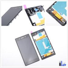 Sony Xperia Z1 L39H C6902 C6903 Display LCD Touchscreen Digitizer schwarz Rahmen