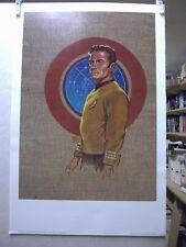 Frank Kelly Freas Star Trek Print: Captain Kirk (USA)