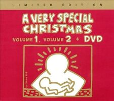 VERY SPECIAL CHRISTMAS - VOLS. 1 , VOL 2 + DVD - BRAND NEW LIMITED EDITION