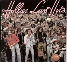 HOLLIES ~ LIVE HITS ~ 1976 UK 15-TRACK LP RECORD ~ POLYDOR 2383 428 [A1/B1]