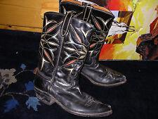 Vtg. Mens Cowboy Boots, Size 7D!