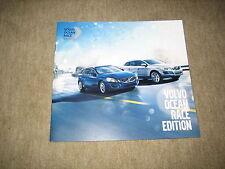 Volvo V60, V70, XC60, XC70 Ocean Race Edition Prospekt Brochure von 4/2011