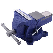 "5"" Table Bench Top Mechanic Vise Vice Steel Jaw Clamp 360º Swivel Locking Base"