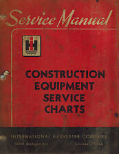 International Vintage Construction Equipment Service Charts Manual