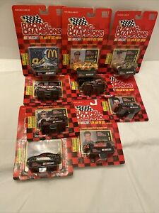 9 Different Nascar Racing Champions 1:64 1997 Season Die cast Mint In Box New