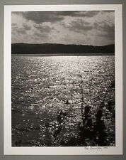 BONNIERE,16X20 SILVER GELATIN PHOTOGRAPH,S/N,SMOOTHWATER LAKE,TEMAGAMI,CANADA