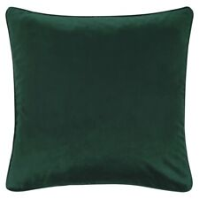 Barbara Becker Kissenbezug bb Home Passion Einfarbig Samt grün 45x45cm