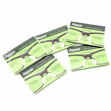 3 Pairs CLEAR 2.5mm Silicone Anti-Slip Glasses Nose Pad Cushions for Eyeglasses