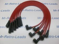 RED 8MM PERFORMANCE IGNITION LEADS WILL FIT. FORD CAPRI 2.8 COLOGNE V6 QUALITY.