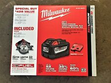 "Milwaukee M18 FUEL 18V 9Ah Li-Ion 7-1/4"" Circular Saw Kit 48-59-1890PC new"