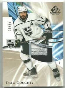 2020-21 SP Game Used GOLD #34 DREW DOUGHTY LOS ANGELES KINGS 3 CL PATCH SP /25