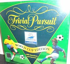 Rare France 98 Edition trivial pursuit game parker board vintage complete