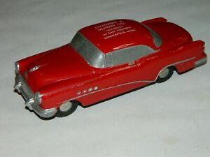 Vintage 1950's Banthrico Buick Roadmaster Cast Metal Promo Car Bank, Nice!