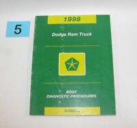 1998 Dodge Ram Truck Body Diagnostic Procedures Manual GOOD USED CONDITION 5