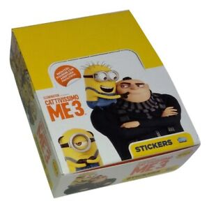 Despicable Me 3 Topps Box 24 Packs Stickers