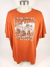 Harley Davidson Orange Dog Races Stampede Burleson Texas T-Shirt Size 3XL