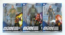 "G.I. Joe Classified DUKE SCARLETT ROADBLOCK 6"" Figure Lot MIB NEW Hasbro 2020"