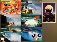 # T1373   WALT DISNEY  CHARACTERS  POSTCARD LOT,   7  DIF. CARDS,   MICKEY MOUSE