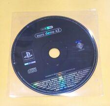 Euro Demo 42 Playstation DEMO PS1 VERSIONE ITALIANA