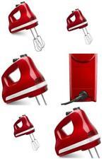 KitchenAid 5-Speed Ultra Power Hand Mixer, Empire Red (KHM512ER)