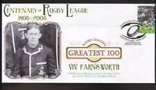VIV FARNSWORTH NEWTOWN JETS RUGBYs GREATEST 100 COVER