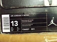Nike Air Jordan 5V 1 2 3 4 6 7 8 9 10 11 12 13 14 I II III IV VI VII VIII IX X