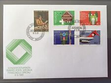 SWITZERLAND FDC 1981 HELVETIA  - Ballenberg Anker 50 Years Swissair 9.3.1981