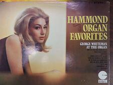 Hammond Organ Favorites George Whiteman at the Organ 33RPM 032816 TLJ