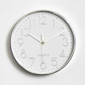 "Antique Designer Watches 8/10/12/14"" Plastic Quartz Silent Wall Clock Home Decor"