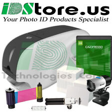 IDP Smart 31S Single Side Complete Photo ID Card Printer System