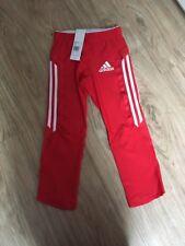 Adidas 3/4 Runing Tight Leggings Rot Gr.XXS Neu