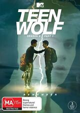 Teen Wolf : Season 6 : Part 1 (DVD, 2017, 3-Disc Set) RELEASE 15/6/17
