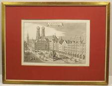 Originaldrucke (1900-1949) aus Europa mit Landschaft und Kupferstich