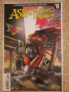 Ash Vs Army Of Darkness Comic incentive #0 NM! Pasquale Qualano Variant 1:30