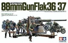 Tamiya 35017 1/35 German Gun Flak 88mm Plastic Model