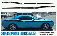 New Dodge Challenger Side Racing Stripes  fits 2011-14 Customizable Text & Color