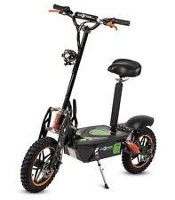 Patinete electrico 2000w scooter patin sillin plataforma ruedas tacos naranja
