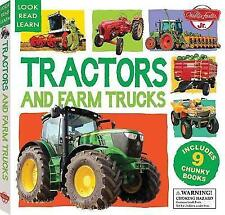 Tractors and Farm Trucks: Includes 9 Chunky Books (Look, Read, Learn), Walter Fo
