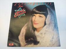 "Connie Francis Sings Jewish Favorites (2391 302) 12"" LP Polydor 1977 VG+/VG+"