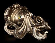 Steampunk Wandrelief - Der Kraken - Fantasy Gothic Retro Figur Veronese