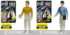 Star Trek Beaming Spock & Kirk ReAction Figure Set - EE Exclusive