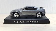 1/72 UCC NISSAN SKYLINE GT-R R35 Gray diecast car pullback model