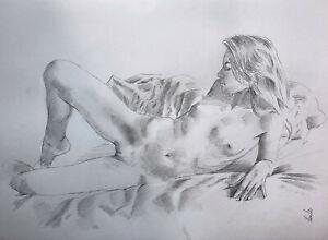 Nude drawing - Elisa