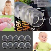 10Pcs Transparent Child Baby Kids Safety Table Corner Edge Bumper Protect Cover