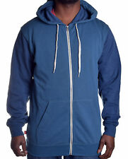 Vans Men's Core Logo Basic COL 2 Tone Full Zip Hoodie